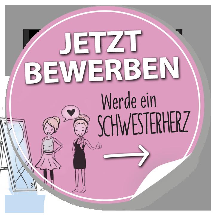 Schwesterherzen Online-Bewerbung